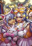 Sleepover party by YumiBaker
