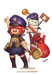 Lalafel and Moggle Delivery Commission