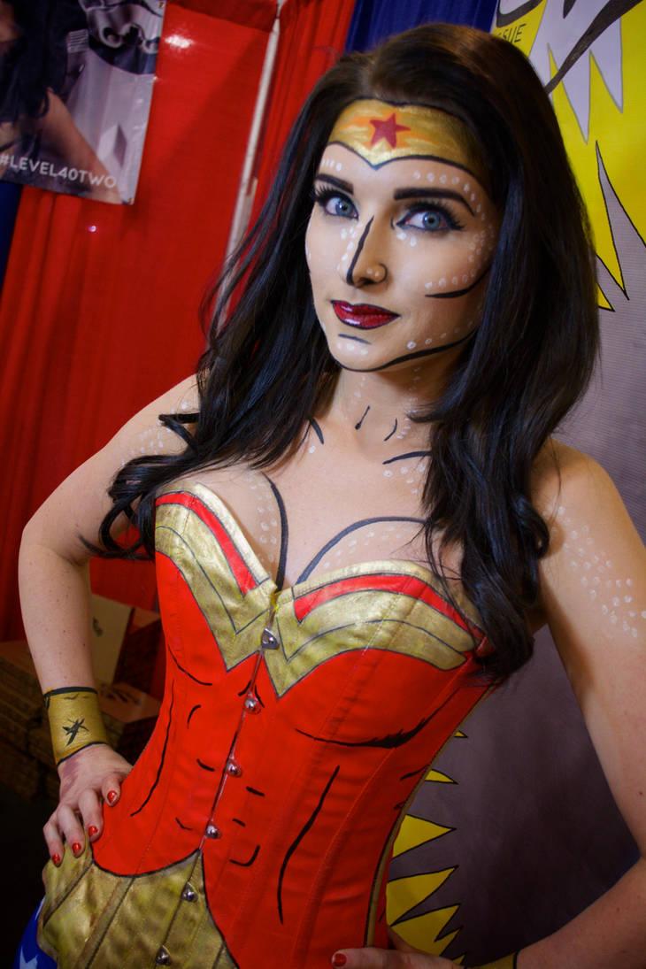 Wonder Woman Cosplay  Bodypaint By Ectogammot On Deviantart-9692