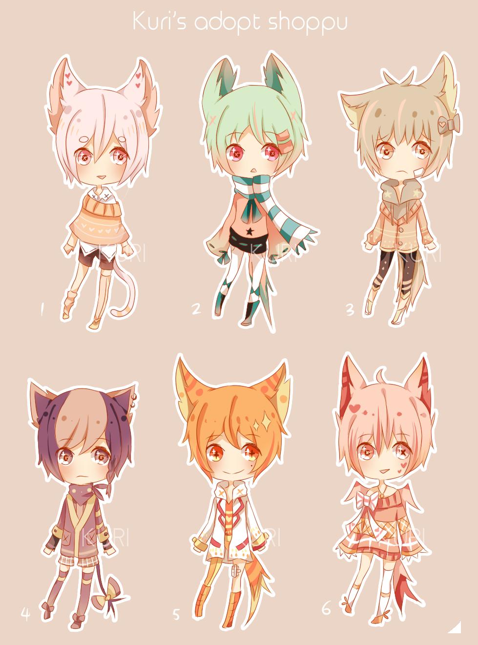 Mimidachi adopts 7 [CLOSED] by SHUUR0U