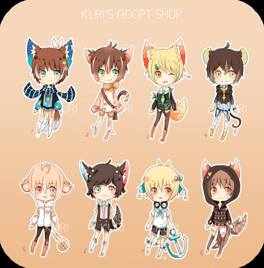 Mimidachi adopts 8 [CLOSED] by SHUUR0U