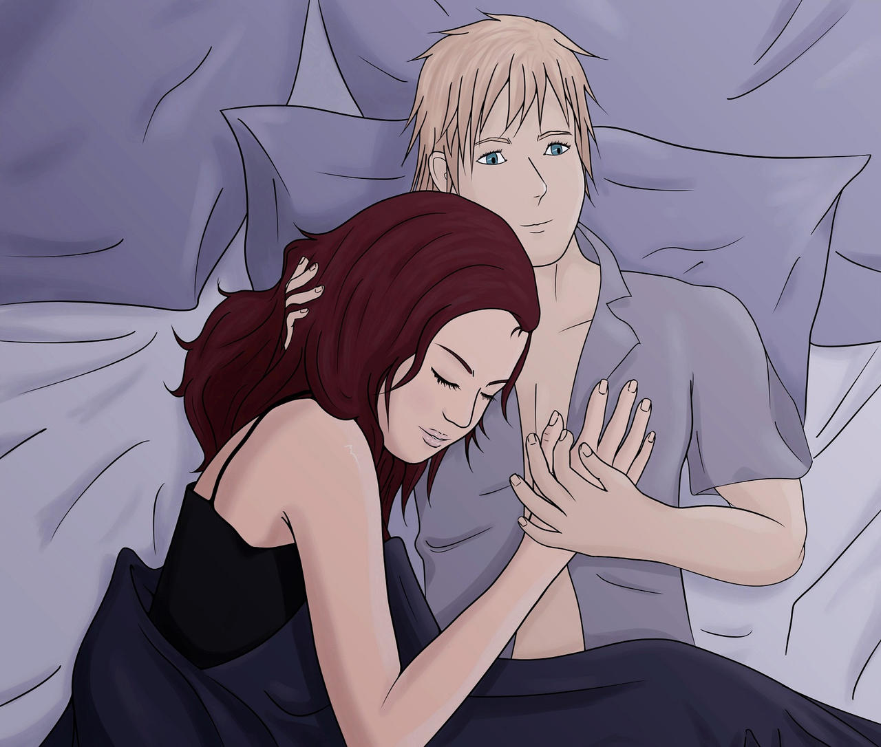 Katniss and Peeta: Sweet Dreams by xHeeendlx