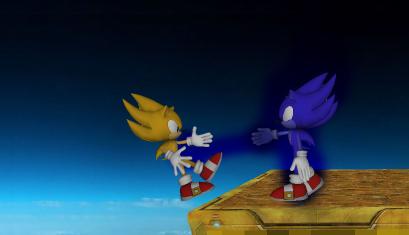 Super Sonic Vs. Dark Super Sonic by Yuri-The-Hedgehog on ...