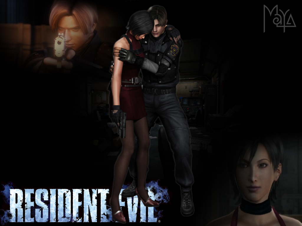 Leon and Ada RE2