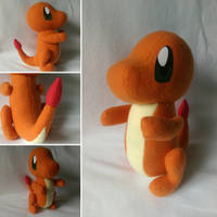 Small Charmander by FleeceFriendship