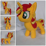 Sunset Shimmer Plush by FleeceFriendship