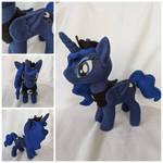 Princess Luna Plush by FleeceFriendship