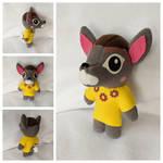 Deirdre Animal Crossing Plush! by FleeceFriendship