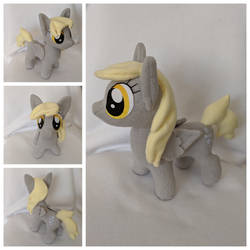 Derpy Plush - closed wings