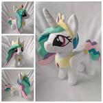 Princess Celestia Plush by FleeceFriendship