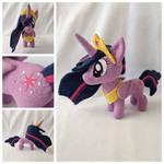 Princess Twilight Sparkle Plush by FleeceFriendship