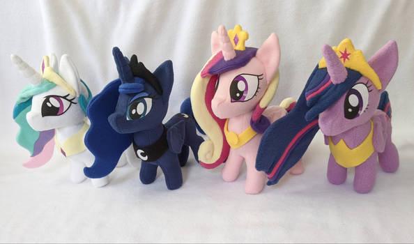 Princess Plushies!