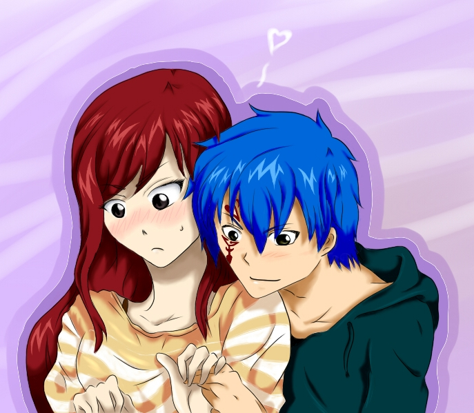 Fairy tail erza x jellal jellal and erza fairy tail