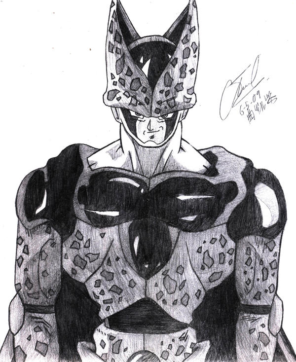 Perfect Cell By Qukai415 On DeviantArt