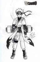Naruto Sage Mode Pencil by qukai415