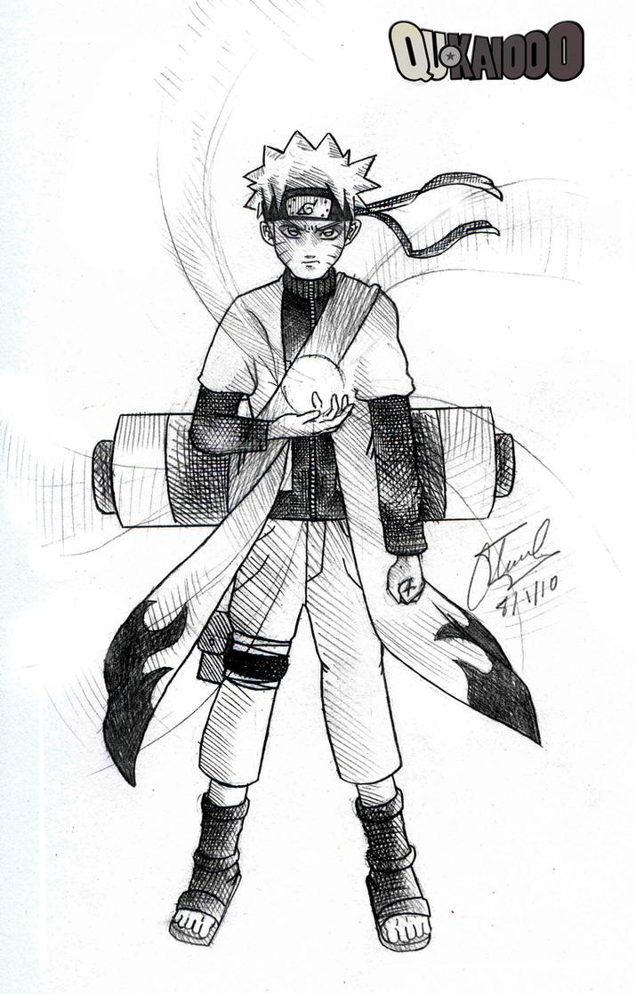 Naruto Sage Mode Pencil by qukai415 on DeviantArt
