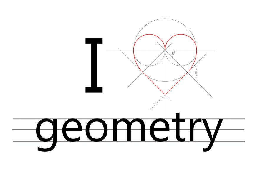 I love geometry by duchowa