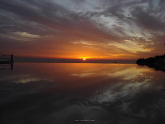 Harmonic Sunset by alahay