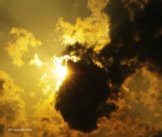 Golden Sky by alahay