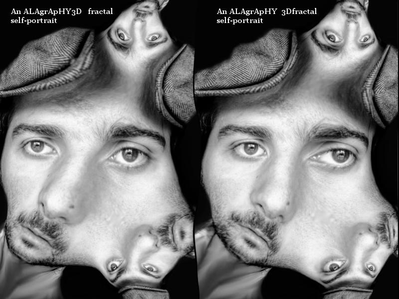 3D Fractal Self-Portrait