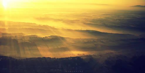 Sunrise on Rome