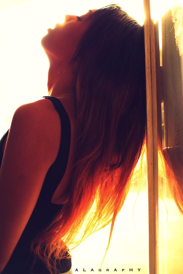 Alisha and the Sun by alahay
