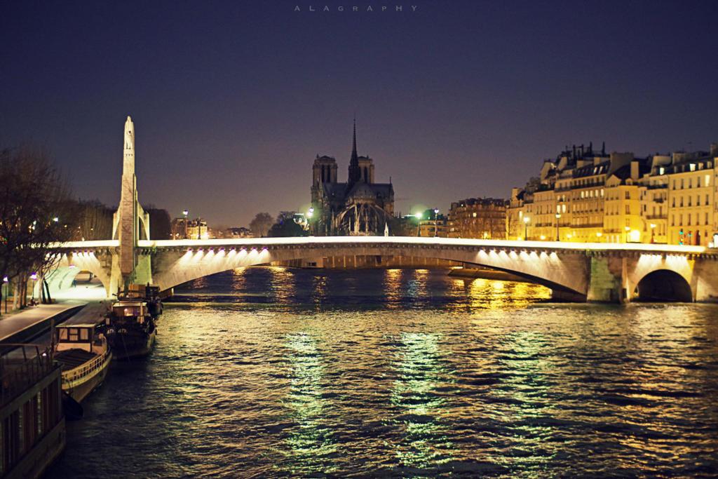 paris par nuit by alahay