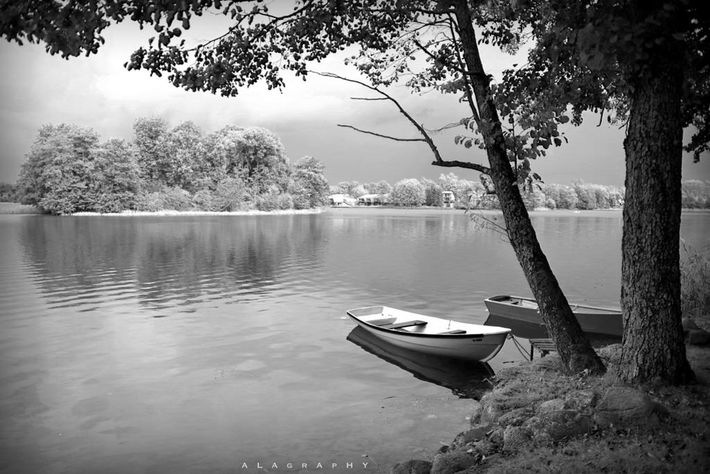 infrared lake by alahay