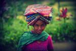 faces and colors of kintamani, bali
