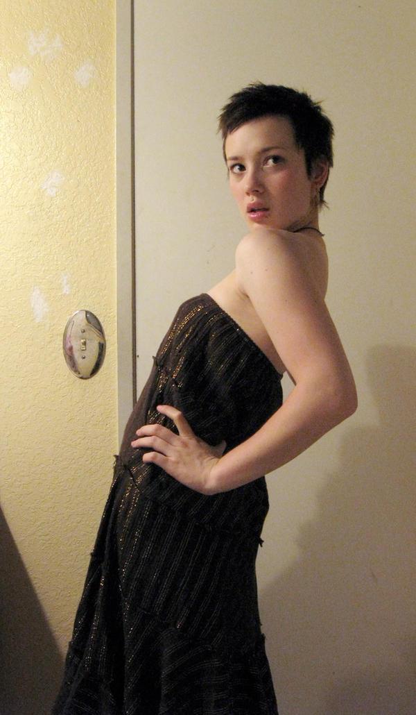 brown skirt3 by clickypenpixieXstock