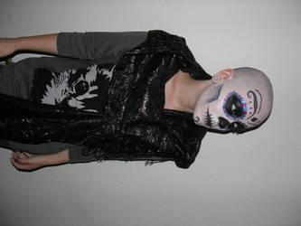 Hipster Sugar Skull by clickypenpixieXstock