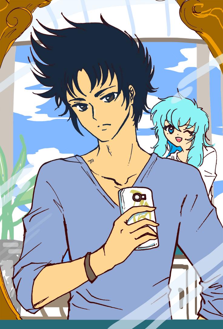 SS selfie-SHURA by kamelyon