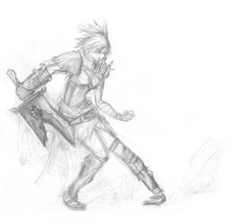 League of Legends - Riven Sketch