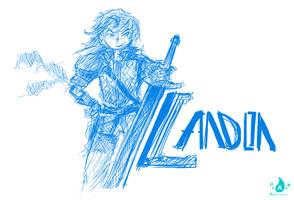 Landon Digital Sketch