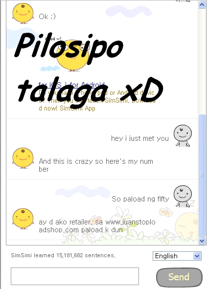 Simsimi free online chat