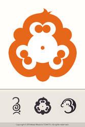 3monkeys Logo By Miloszwl by YUMEK0N