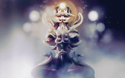 Alien King by YUMEK0N