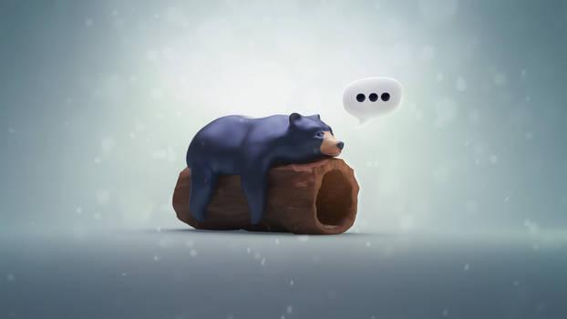 Sleepy bear