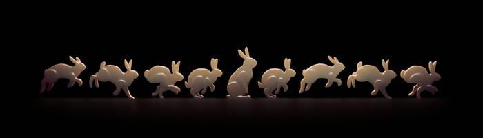 Rabbit simple cycle by YUMEK0N