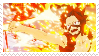 F2U - Kirishima - My Hero's One Justice Stamp by ZodiacCloud