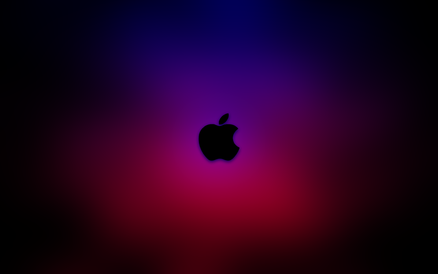 Red And Blue Apple Wallpaper By Kornolho
