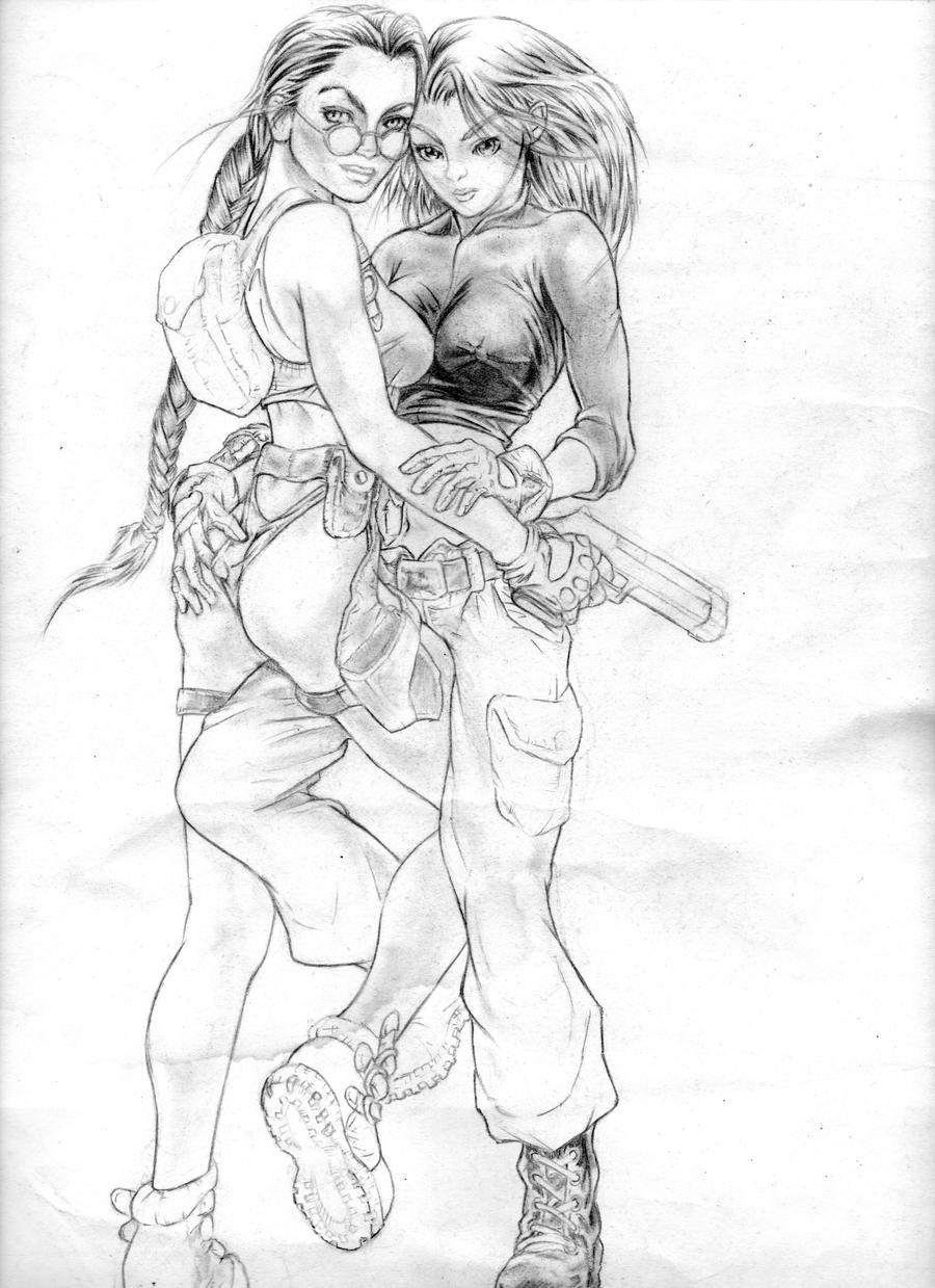 Lara Kim by chichiboy