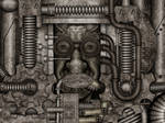 Silencing machine