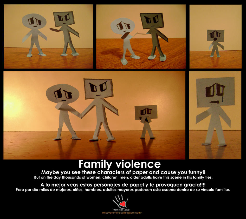 Midterm paper about family violence
