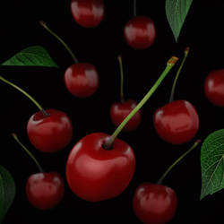 3d cherry