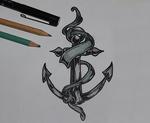 Anchor Tattoo Drawing
