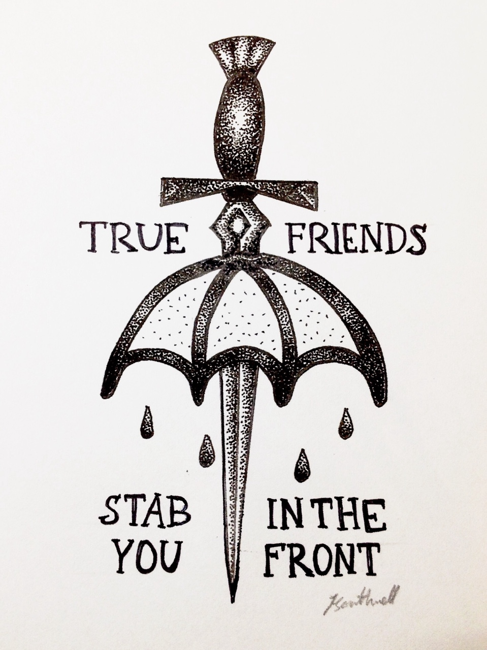 True Friends By Bring Me The Horizon By Gummybearorgy On