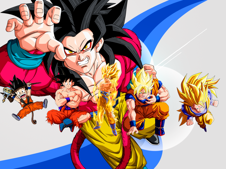 GOKU TODAS LAS FASES by ShapalapaFuck on DeviantArt