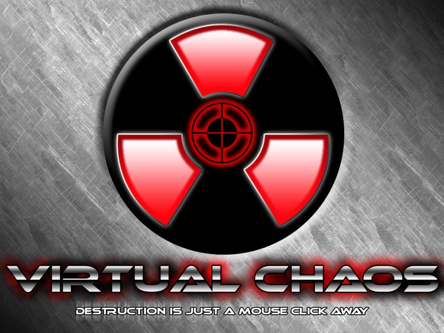 Virtual Chaos Logo by EspionageDB7