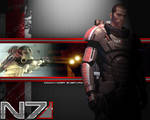 Commander Shepard Wallpaper